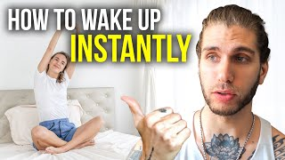 How To Wake Up INSTANTLY When Your Alarm Goes Off