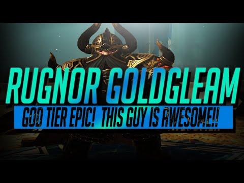 Rugnor Goldgleam Champion Guide + Dwarves Faction Wars 21 3 Star | RAID Shadow Legends