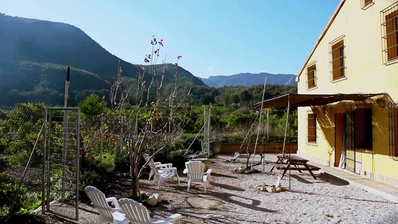 Finca el campillo casas rurales valle de ricote murcia youtube - Casa rural valle de ricote ...