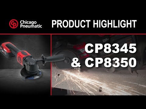 Cp8345 Cp8350 Cordless Angle Grinders 4.5″ & 5″