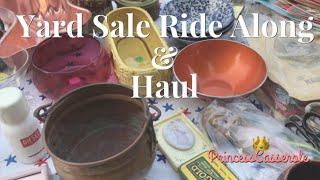 Garage Sale Yard Sale Along With Me & Haul (2018)