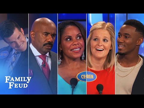 Thumbnail: 2016's Top 5 Funniest Answers! | Family Feud