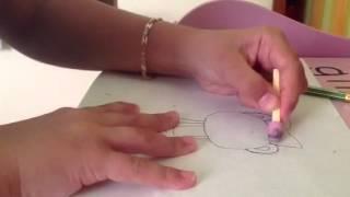 Как нарисовать giggles(Я научу вас рисовать розового бурундука в бантике., 2012-08-31T11:23:08.000Z)