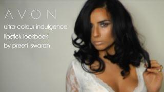 Avon Ultra Colour Indulgence lipstick lookbook