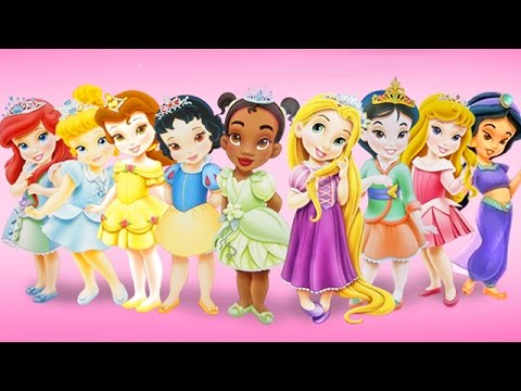 Baby Disney Princess Movie Games - Disney Baby Princess Games for Kids