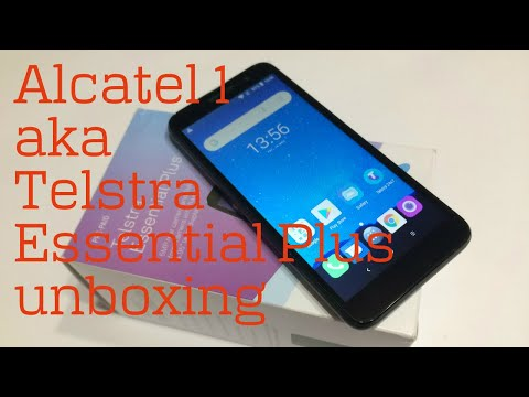 Alcatel 1 (aka Telstra Essential Plus) Unboxing