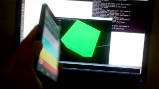 Android To Processing Orientation Sensor