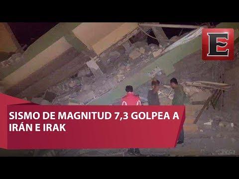 Sismo de 7.3 de magnitud sacude a Irak