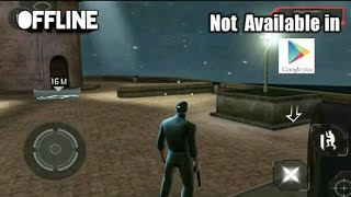 Top 10 Stealth Games Android Not Available In PlayStore OFFLINE《Ad games》