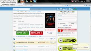 Repeat youtube video How to stream/watch any movie you want fast free and easy!