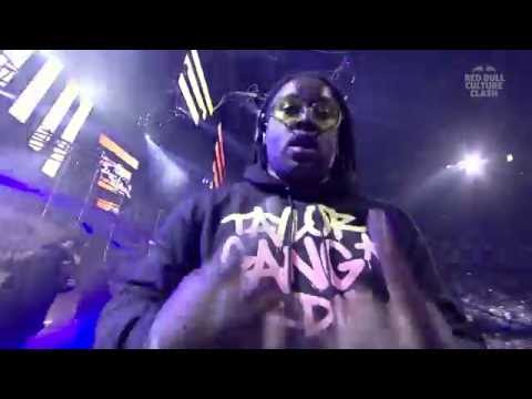Wiz Khalifa & Taylor Gang - Round 1 - Red Bull Culture Clash 2016 London