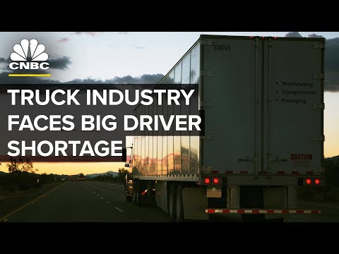 Trucking Companies Are Hiking Wages Amid Driver Shortage  | CNBC