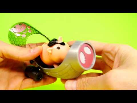 Peppa Pig and Disney Pixar Toy Story Porkchop Aqua Adventure Pirate Ship Play Doh Cannon Battle Mp3