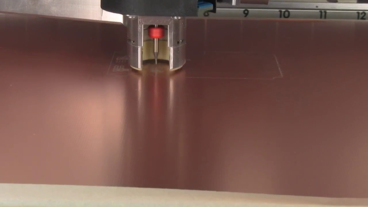 Lpkf Protomat S63 Youtube Circuit Board Milling Is Performed On Our