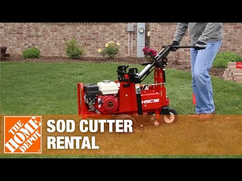 Pro Sod Cutter Rental | The Home Depot Rental