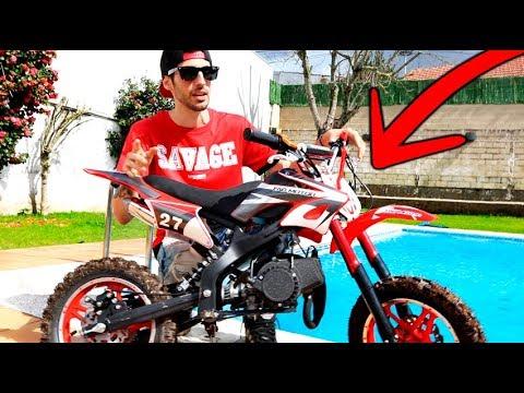 Mi Nueva Moto Cross De Retos Casi Me Caigo Y Me Hago Daño Carreras De Motos De Cross Youtube