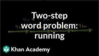 Running distance in a week | Multiplication and division | 3th grade | Khan Academy
