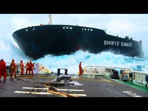 Unnormal große Schiffe, die tatsächlich existieren