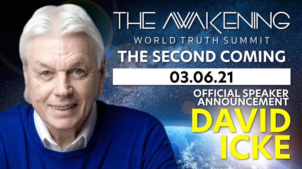 David Icke - Speaker Announcement | The Awakening 2