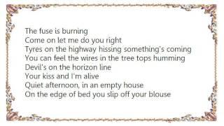 Bruce Springsteen - The Fuse Lyrics