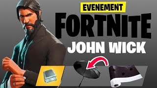 COME VEY YOUR FREE RECOMPENSES FORTNITE x JOHN WICK 3!!