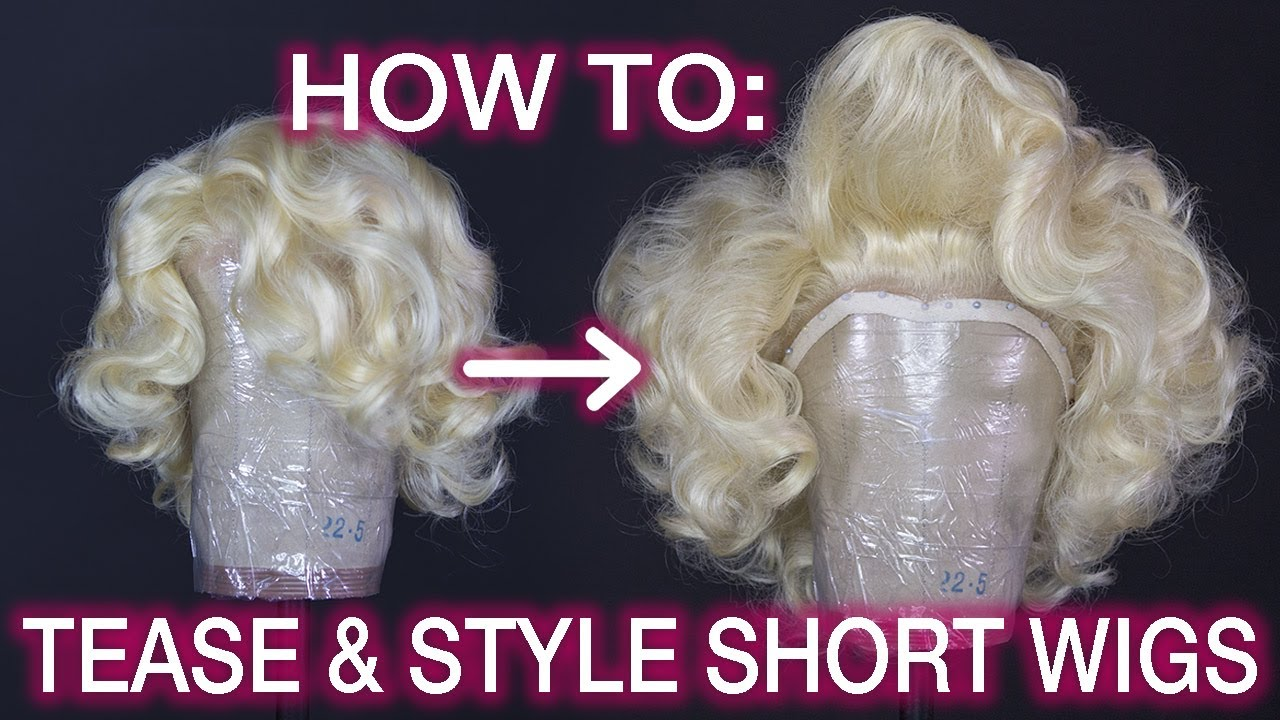 How To Tease   Style Big Marilyn Monroe Hair! - YouTube 579bbfa50616