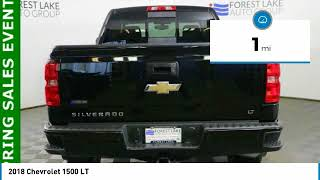 2018 Chevrolet 1500 Forest Lake MN T18425