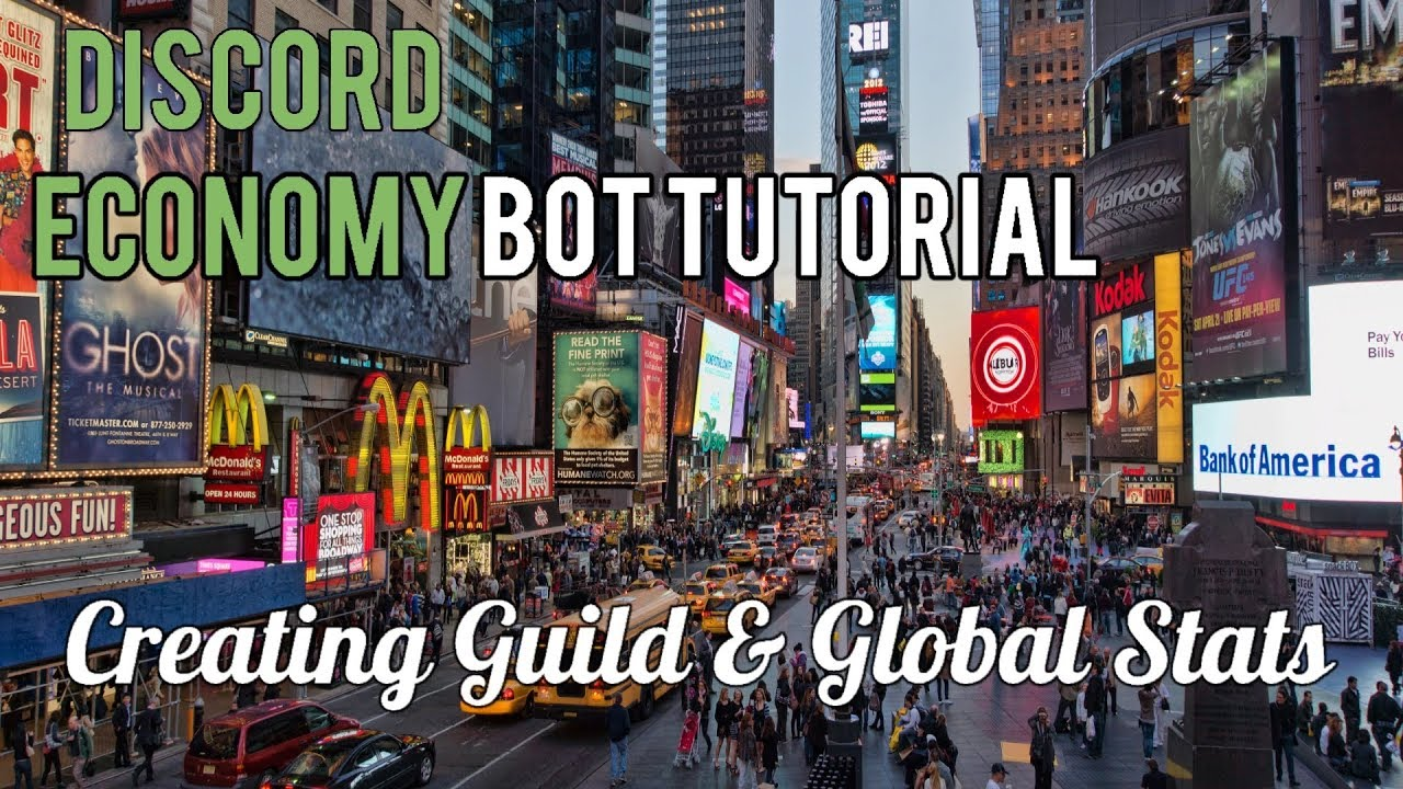 Discord Economy Bot Tutorial | Creating Guild & Global Stats [3]