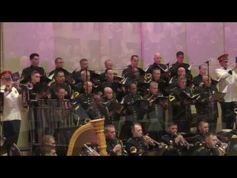 """LIVE - Salute to Veterans from The U.S. Army Band """"Pershing's Own"""""""