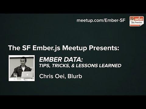 Ember Data: Tips, Tricks, & Lessons Learned
