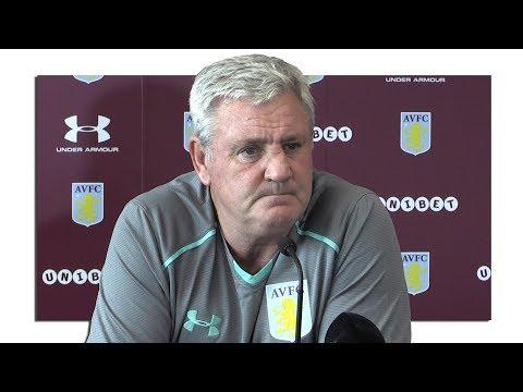 Steve Bruce Full Pre-Match Press Conference - Bristol City v Aston Villa - Championship
