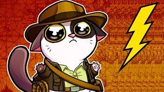 КОТЕНОК с УЛИЦЫ #7 - Котенок плачет - мультик игра видео для котика #ПУРУМЧАТА