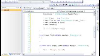 Building Simple Clock With C# And Visual Studio 2008