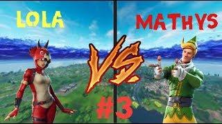 MATHYS VS LOLA  #3