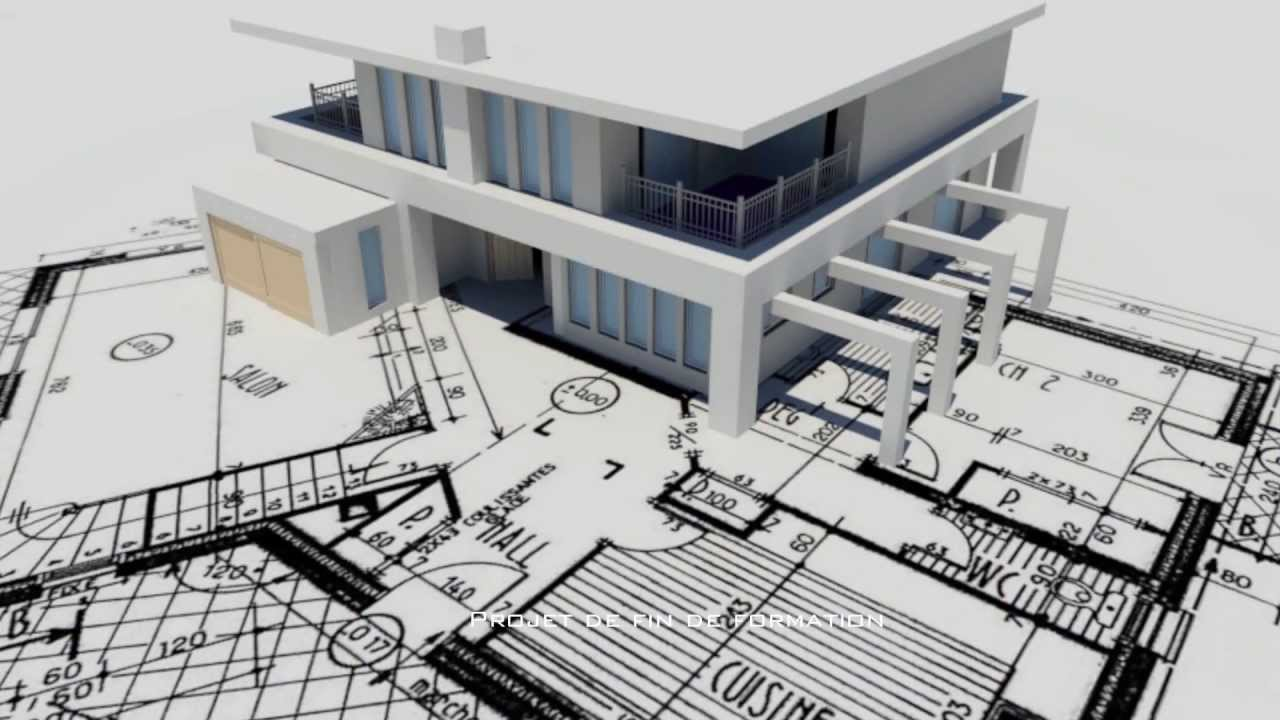 Autocad architecture 3d studio max youtube for Architecture 3d