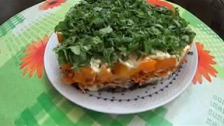 Салат для любителей баклажан, УЛЁТНЫЙ! Salad for lovers of eggplant, AWESOME!