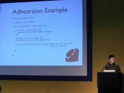 Jay Phillips (Adhearsion) talks at Asterisk-Tag.org - 4/5