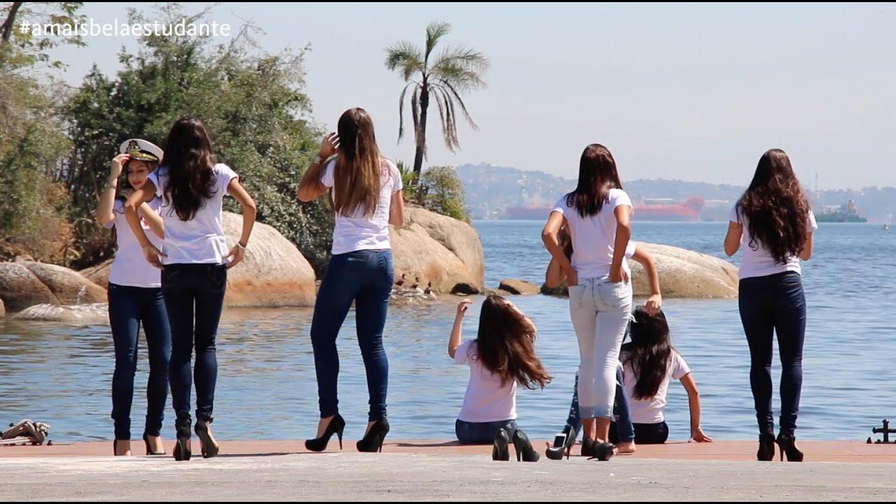 Marinha Do Brasil Recebe As Mais Belas Estudantes Na Ilha Das Flores