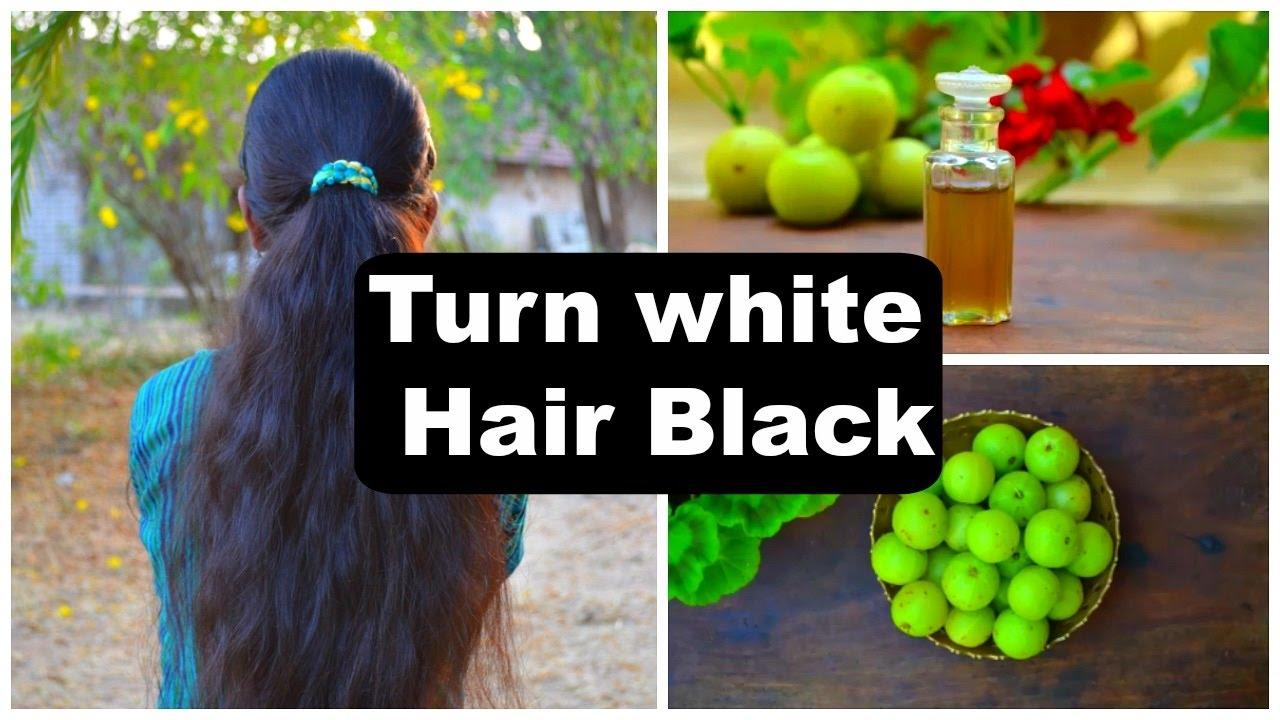 2 White Hair Treatments At Home Naturally | Turn White