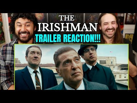 THE IRISHMAN | Official TRAILER - REACTION!!!