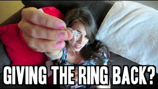 Giving the Ring Back??? - (Day 24 of Fall-Log-Mas)