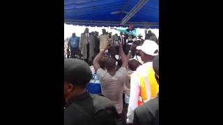 tuface idibia performs at oshiomhole re election rally