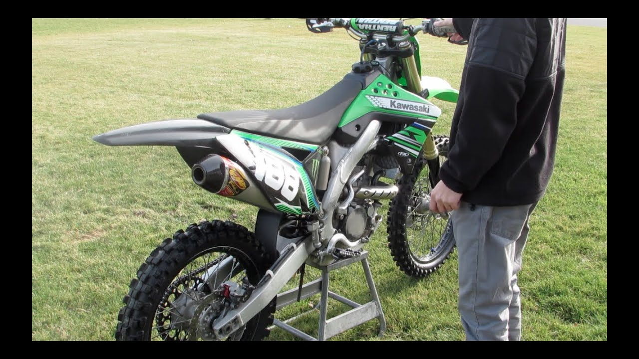 KX250f FMF Factory 4.1 RCT VS. STOCK - YouTube