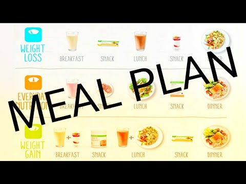 HERBALIFE WEIGHT LOSS MEAL PLAN MADE EASY