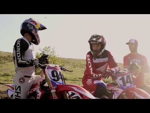 2017 Honda HRC Factory team and Yoshimura