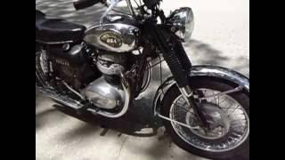olde iron cycle works 1970 bsa thunderbolt 650