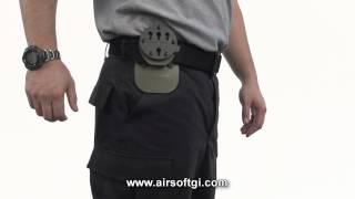 Airsoft GI - G-Code Belt Mounts RTI vs. Non-RTI