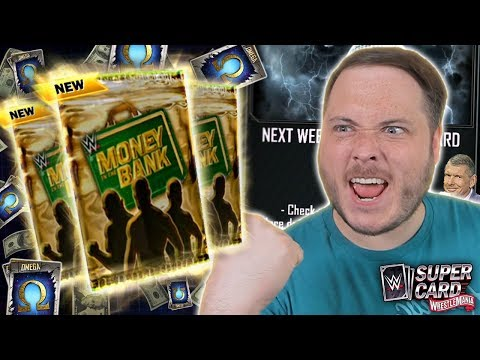 SO CLOSE!! MONEY IN THE BANK WINNERS PACK OPENING!   WWE SuperCard S6