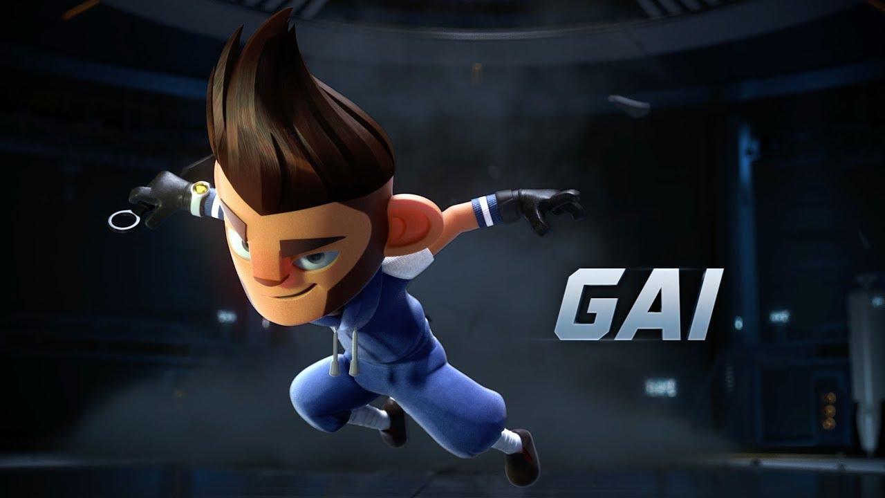 5 RunningMan Animation GAI YouTube