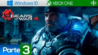 Gears of War 4 Español Latino - Campaña Completa Parte 3 Gameplay PC - Acto 2 Capitulo 3 y 4